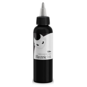 Tinta Electric Ink Preto Tribal - 120ml