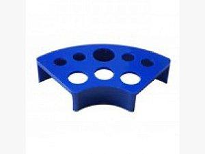 Porta Batoque Acrílico 3 Tamanhos - Azul
