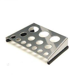 Porta Batoques Trestini em Aço Inox - 3 Tamanhos