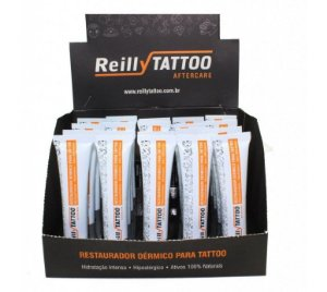 Restaurador Dérmico Reilly Tattoo Aftercare 15g - Caixa com 20 Unidades