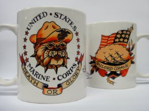Caneca Porcelana Sailor Jerry - Mod 09