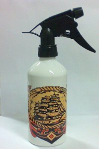 Borrifador de Aluminio 400ml - SAILOR JERRY Modelo 06