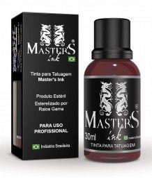 Tinta Master Ink Marrom Escuro 30ml