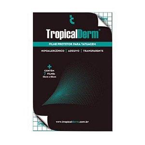 TropicalDerm Filme Protetor P/ Tatuagem - Envelope Com 7 Filmes