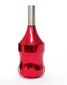 Grip Aluminio White Head P/ Cartucho - Vermelho