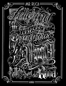 Sketchbook Mr. Ruca Volume 03 - Construção de Letras e Ornamentos