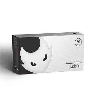 Caixa De Agulhas Black Cat - Traço - 50 Unidades