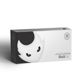 Caixa De Agulhas Black Cat - Pintura Magnum - 50 Unidades