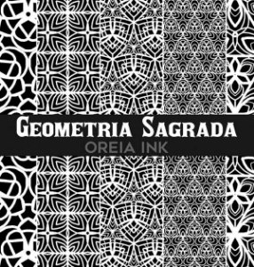 Sketchbook Oreia Ink Vol3 - Geometria Sagrada