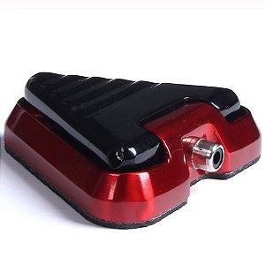Pedal Aluminio - Vermelho