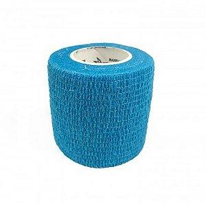 Bandagem Fita Adesiva Auto Aderente - Azul Claro