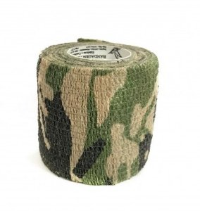 Bandagem Fita Adesiva Auto Aderente - Green Camo