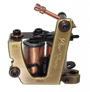 Maquina Lauro Paolini Paul Rogers Aluminio Ouro Velho - Hibrida