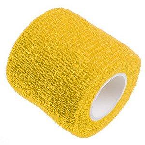 Bandagem Fita Adesiva Auto Aderente - Amarela