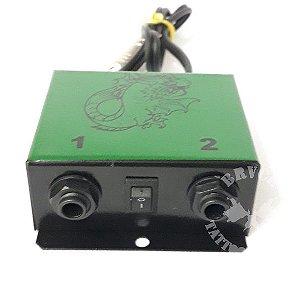 Hub Adaptador New P/ 2 Maquinas - Verde