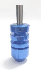 Grip Aluminio Rosca 25mm Azul