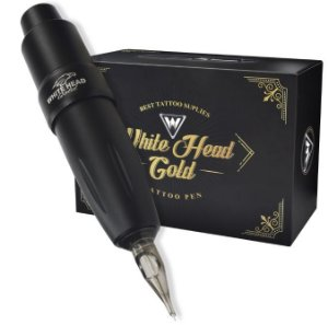 Maquina Pen White Head Gold