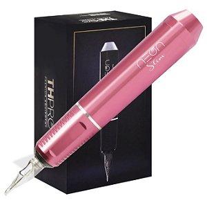 Máquina Rotativa TH Pró Neon Pen Slim - Rosê
