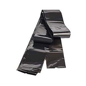 Protetor de Clip Cord Plástico Preto 60 x 600 mm - 50 Unidades