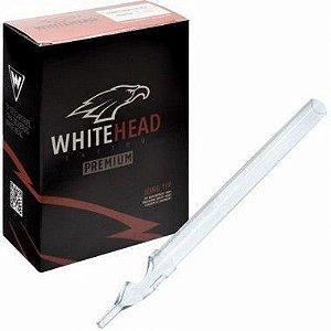 Caixa de Ponteiras Long Tip Descartáveis White Head - Pintura - 50 Unidades - 15MG  -  Validade Outubro/2019