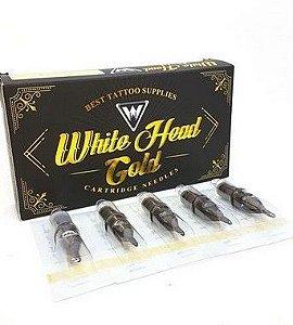 Cartucho White Head Gold - Traço - 20 Unidades - 1209RL - Validade Outubro/2019