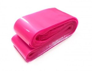 Protetor de Clip Cord Plástico Rosa 60 x 600 mm - 50 Unidades