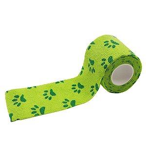Bandagem Fita Adesiva Auto Aderente - Green Paw