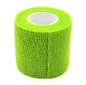 Bandagem Fita Adesiva Auto Aderente - Fluo Green