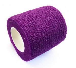 Bandagem Fita Adesiva Auto Aderente - Roxa