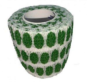 Bandagem Fita Adesiva Auto Aderente - Green Dots