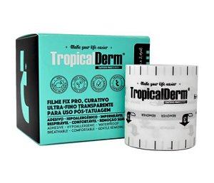 TropicalDerm Filme Protetor P/ Tatuagem Fix 1.0 - Rolo 5 Metros