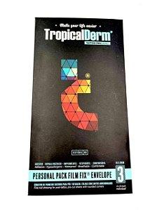 TropicalDerm Personal Pack Filme FIX 10cm x 20cm - Envelope 3 Unidades