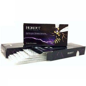 Caixa de Agulhas Hornet 1207MG - Pintura Magnum - 50 Unidades - Validade 04/2021