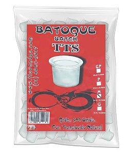 Batoque TTS Translúcido Natural P (Pequeno) - 500 Unidades