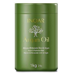 Inoar Argan Oil Máscara Profissional Hidratante 1kg