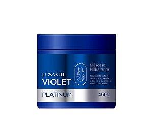 Lowell Violet Platinum - Máscara Hidratante 450g