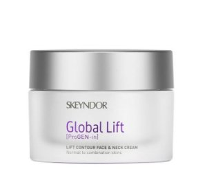 Skeyndor Global Lift - Creme Firmador Rosto, Colo e Pescoço - Peles Normais a Mistas 50ml