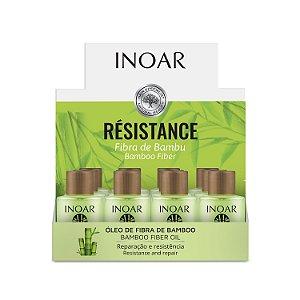 Inoar Résistance Display Óleo Fibra de Bambu 7ml contendo 12und