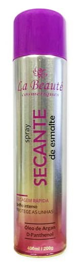 Spray Secante de Unhas La Beauté 400ml