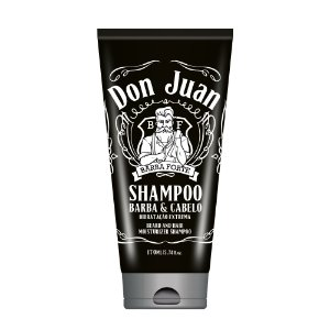 Barba Forte Don Juan - Shampoo Barba e Cabelo 170ml
