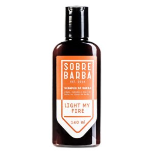 Sobrebarba Light My Fire - Shampoo de Barba 140ml