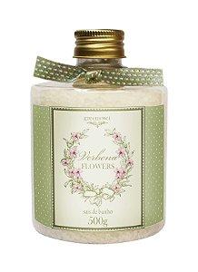 Sais de banho Greensweet Fragância Verbena Flowers 500g