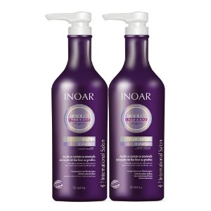 INOAR Kit Speed Blond Shampoo e Condicionador 1Lt