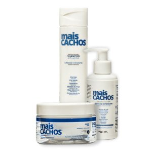 Kit About You Mais Cachos - Shampoo, Máscara e Leave-in