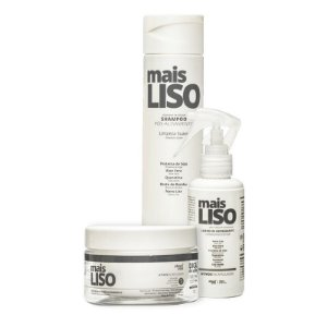Kit About You Mais Liso - Shampoo, Máscara e Leave-in