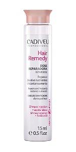 6 Ampolas Hair Remedy Dose reparação CADIVEU 15ml