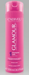 Shampoo Rubi da Linha Glamour CADIVEU 250ml