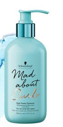 Schwarzkopf Mad About Curls - Shampoo Extra Espuma Sem Sulfato 300ml