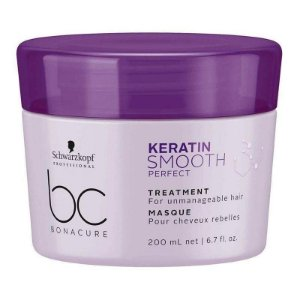 Schwarzkopf BC Bonacure Keratin Smooth Perfect - Máscara 200ml