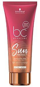 Schwarzkopf BC Bonacure Sun Protect Shampoo Cabelo e Corpo 200ml